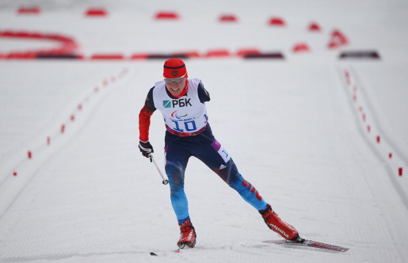Vladislav Lekomtcev claimed his third win of the IPC Nordic Skiing World Cup ©Getty Images