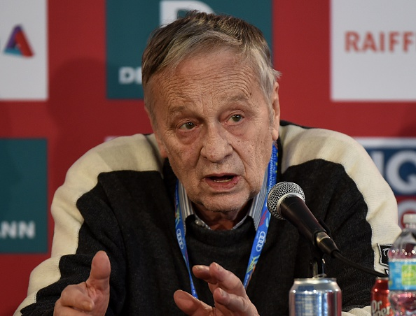 Gian Franco Kasper has criticised FIFA for harming winter sports by the likely World Cup time shift ©AFP/Getty Images