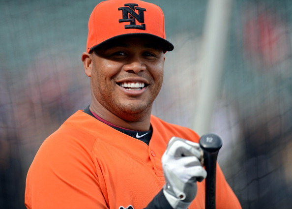 Former Major League Baseball star Andruw Jones has been named on Team Europe  ©Getty Images