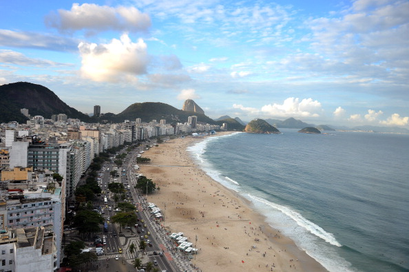 Copacabana Beach will be the stage for beach volleyball at the Rio 2016 Olympic Games ©Getty Images