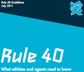Rule 40, which caused so much controversy at London 2012, is set to be relaxed for Rio 2016 ©IOC