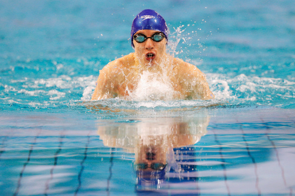Scott Quin is hoping to be selected for the British team set to compete at the IPC Swimming World Championships in Glasgow ©Getty Images
