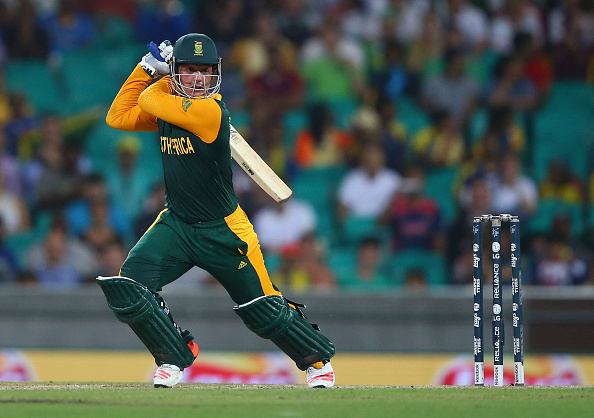 Quinton de Kock scored an unbeaten 78 as South Africa cruised to victory ©Getty Images