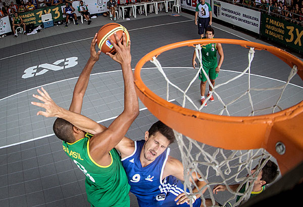 3x3 basketball could replace the traditional version of the sport at the 2018 Commonwealth Games on the Gold Coast, it has been claimed ©FIBA