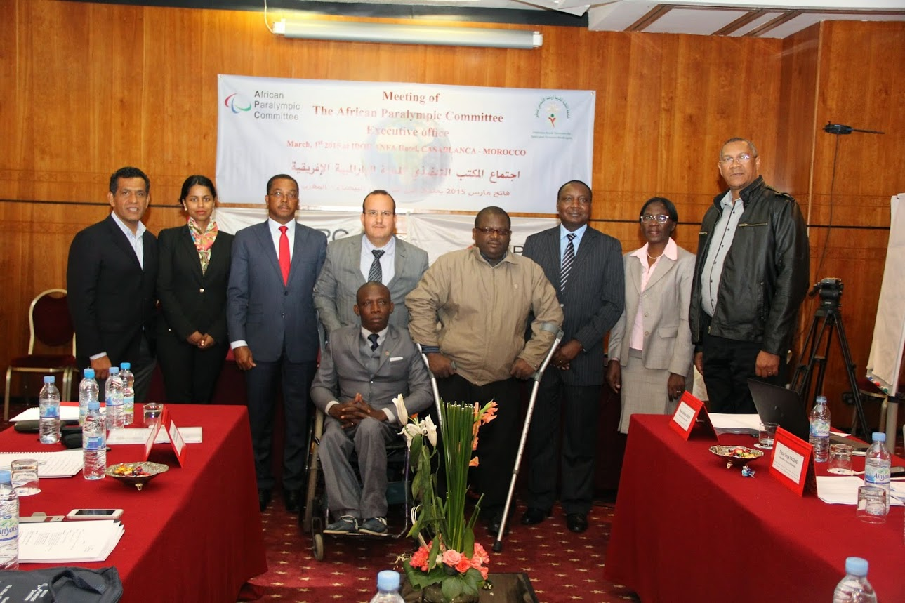 Leonel Da Rocha Pinto, President of the African Paralympic Committee, has claimed at an Executive Board meeting in Casablanca that athletes from the continent will make a big impression at Rio 2016 ©APC