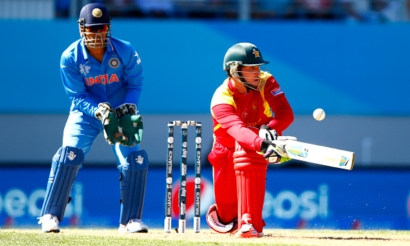 A century from Brendan Taylor on his final international appearance could not prevent Zimbabwe from falling to defeat ©Getty Images