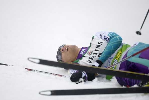 Akito Watabe earned his first World Cup victory of the season in Lahti, Finland ©AFP/Getty Images