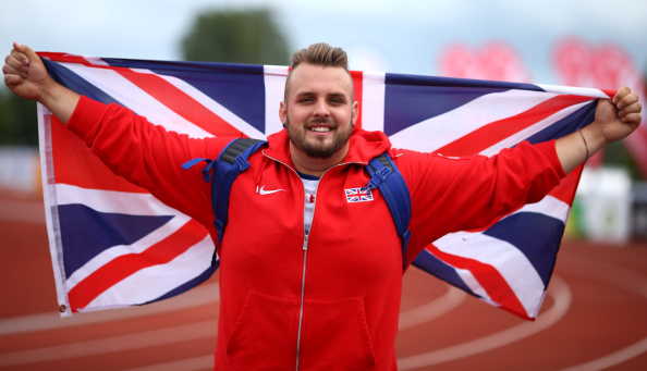 Aled Davies, pictured last year, leads the nominations after breaking two world records ©Getty Images