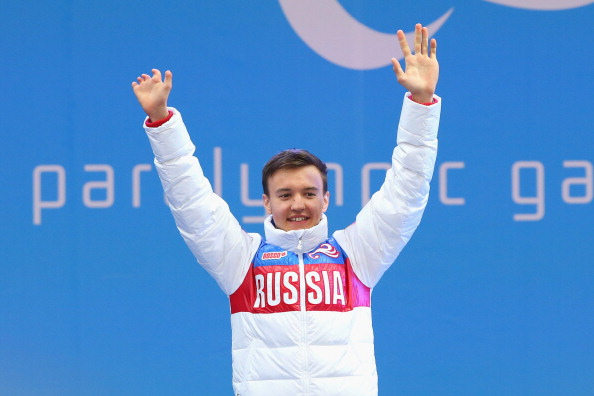 Alexey Bugaev's gold medal in the men's standing super-G event was one of two for Russia ©Getty Images