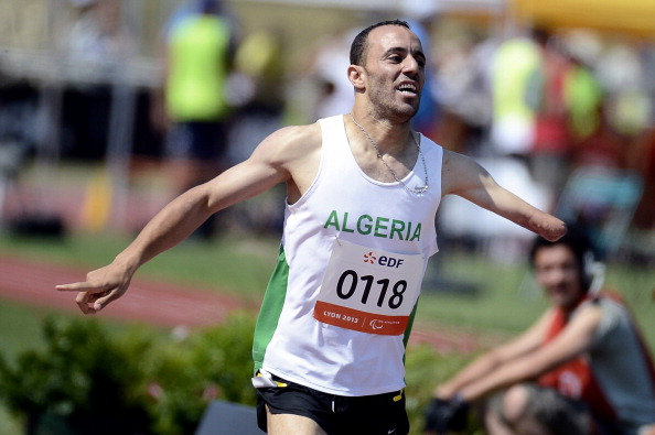 Algeria's Samir Nouioua was among the winners on the second day of competition ©AFP/Getty Images