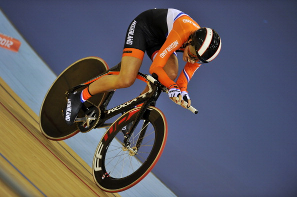 Alyda Norbruis was the host's star cyclist, winning three golds at the Championships ©AFP/Getty Images