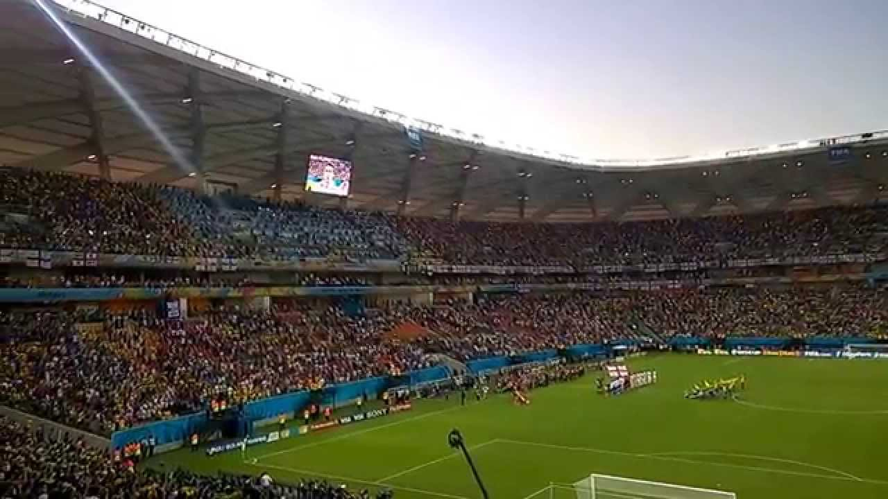 The Amazônia Arena in Manaus will host matches during the Olympic football tournament next year after FIFA backed down in a row with Rio 2016 organisers ©YouTube