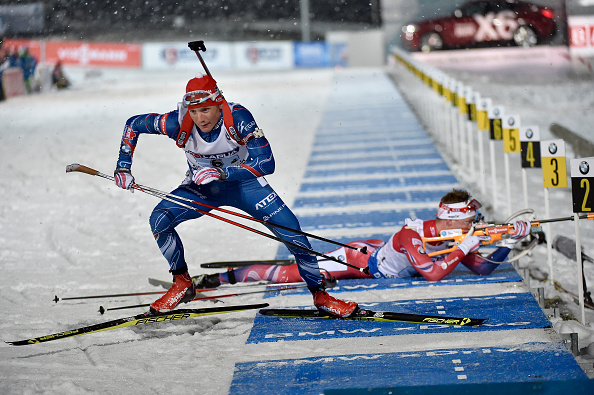 An outstanding final leg for Ondřej Moravec ensured the gold medal belonged to the Czech Republic ©Getty Images