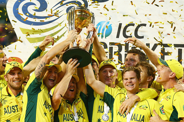 Australia claimed their fifth Cricket World Cup title with a commanding win over New Zealand in Melbourne ©Getty Images