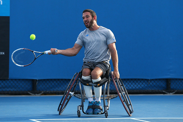 Australia's Adam Kellerman was one of two seeded players to feature and win in the first round of the men's singles ©Getty Images