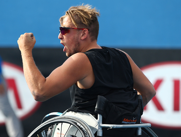 Australia's Dylan Alcott continued his excellent run of form by claiming his third ITF 1 Series title in Florida ©Getty Images