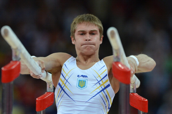 Azerbaijans Oleg Stepko, formerly a representative of Ukraine, claimed the men's all-around gold medal ©Getty Images