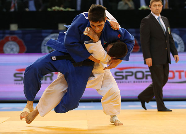 Azerbaijan's Rustam Orujov has now won back to back IJF Grand Prix events having triumphed in Tblisi last weekend ©IJF