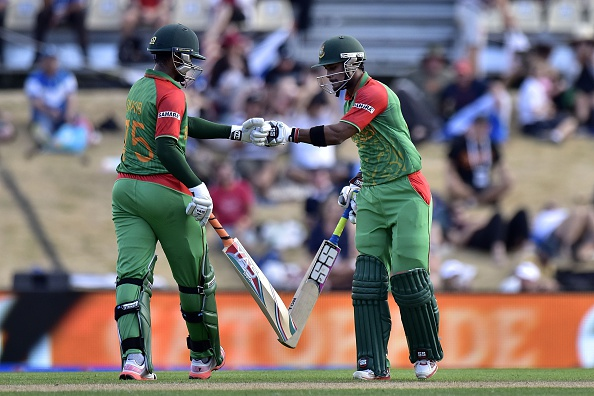 Bangladesh battled hard to win with 11 balls to spare over Scotland ©AFP/Getty Images