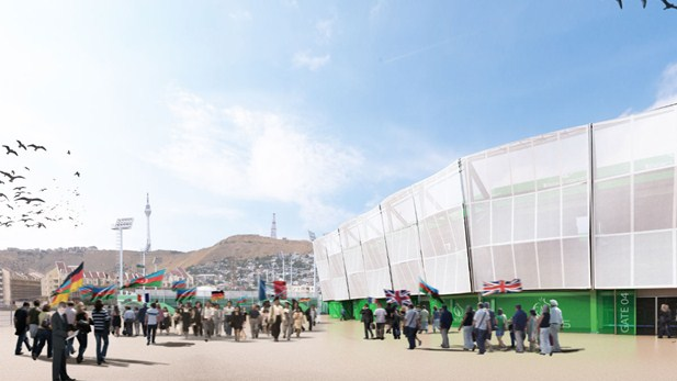 Beach soccer at Baku 2015 will take place in the Beach Arena, a temporary venue as part of the European Games Park ©Baku 2015