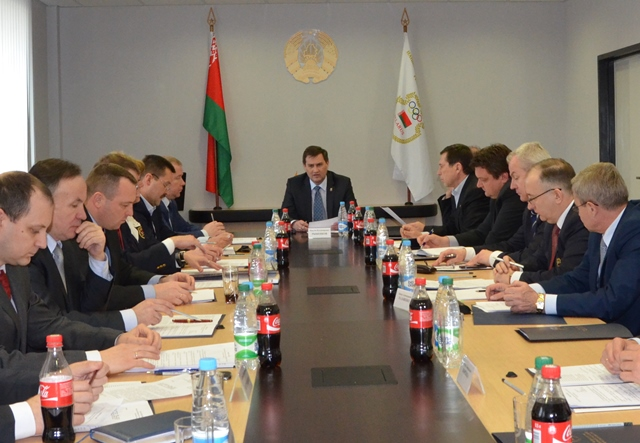 Belarus selected its Chef de Mission for Rio 2016 at a meeting of the National Olympic Committee's Executive Committee ©NOC RB