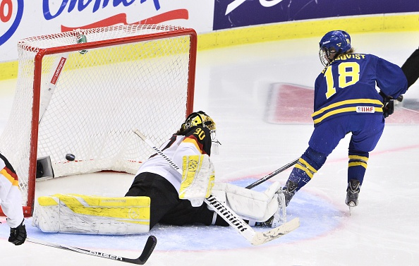 Anna Borgqvist's opener after 51 seconds set the tone for a comfortable evening for hosts Sweden as they beat Germany 4-0 ©Getty Images