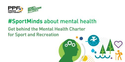 The Mental Health Charter for Sport and Recreation aims to create an environment is which mental health issues are more widely discussed ©The Sport and Recreation Alliance