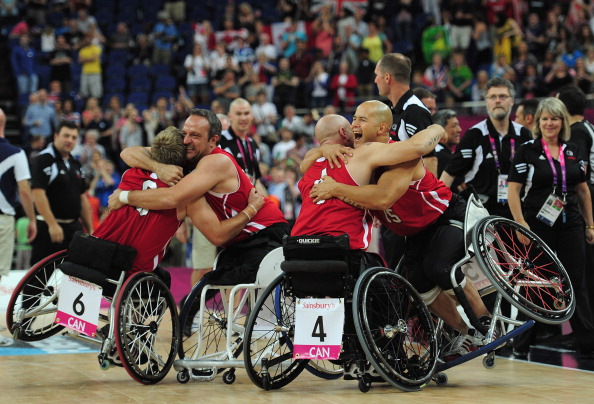 Canada went unbeaten on their way to winning Paralympic gold at London 2012 ©Getty Images