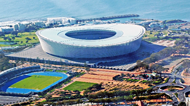 Cape Town Stadium will host the South African leg of the World Rugby Seven Series from 2015-2016 ©Wikipedia