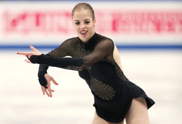 Carolina Kostner is contesting her 16 month suspension at the Court of Arbitration for Sport ©AFP/Getty Images