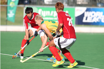 China got the better of hosts South Africa to earn a place in the final against France ©FIH