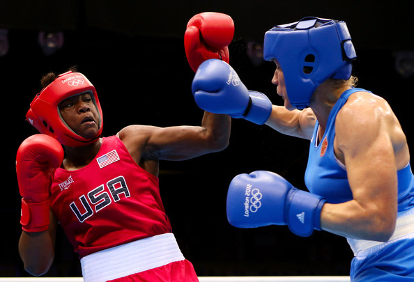 Clarissa Shields won the Olympic gold medal in the middleweight division at London 2012 ©Getty Images