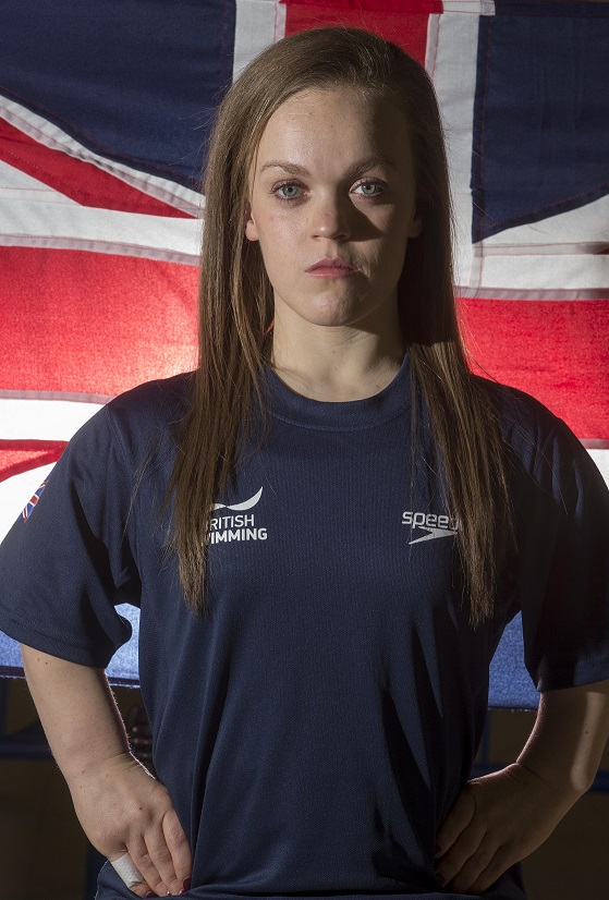 Ellie Simmonds one of 18 swimmers named in the British squad ©Glasgow 2015