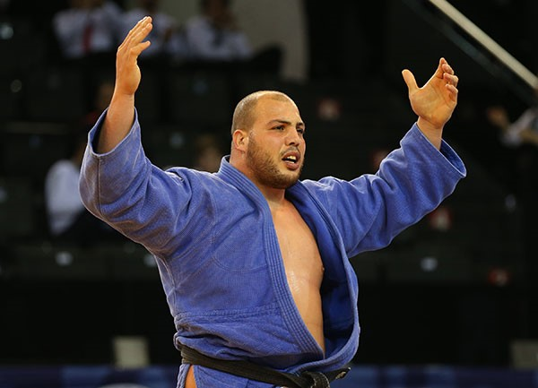 Faicel Jaballah secured gold in the men's over 100 kilograms competition in Turkey ©IJF