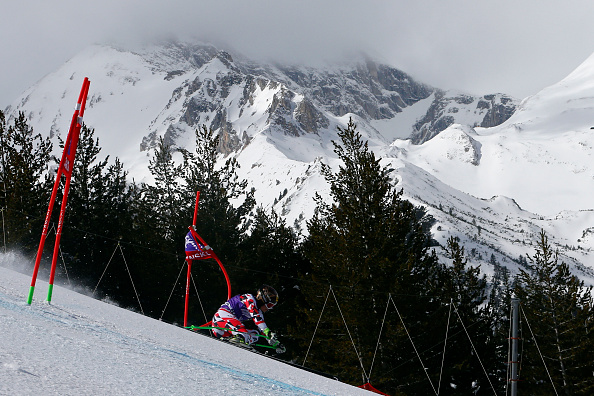 Fenninger's victory saw her cut Tina Maze lead at the top of the World Cup standings ©Agence Zoom/Getty Images