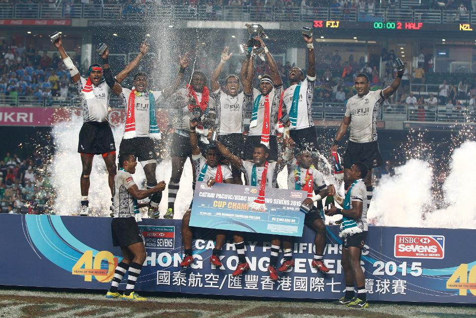 Fiji claimed victory at the Hong Kong Sevens with a commanding win over defending champions New Zealand ©World Rugby