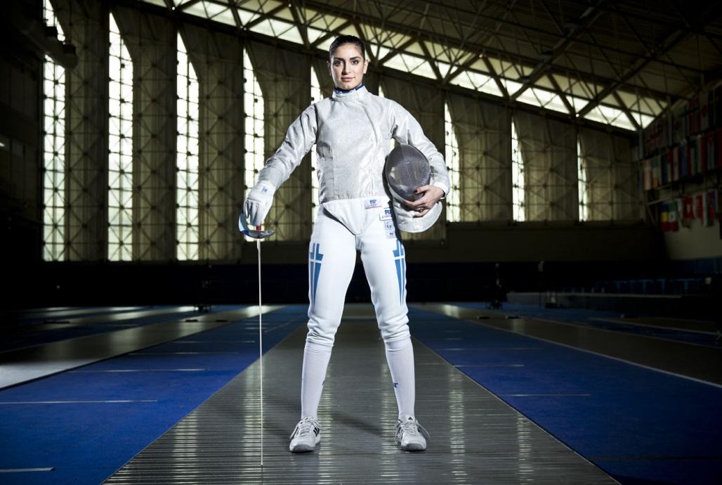 Vassiliki Vougiouka will also help spread the Baku 2015 message in her role as international athlete ambassador ©Baku 2015