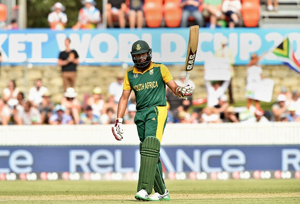 Hashim Amla's innings was key in South Africa 201 run victory over Ireland ©AFP/Getty Images