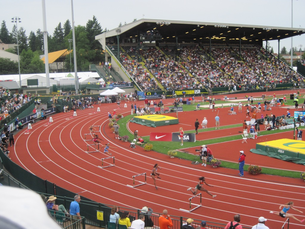Hayward Field at the University of Oregon would have hosted the IAAF World Championships if Eugene's bid for 2019 had been successful ©Getty Images