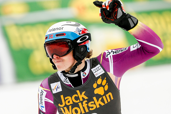 Henrik Kristoffersen has moved up to third in the slalom World Cup standings ©Getty Images