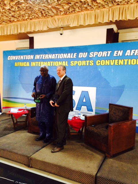 IAAF President Lamine Diack feels every African country should have their own anti-doping agency in order to combat the issue ©ITG
