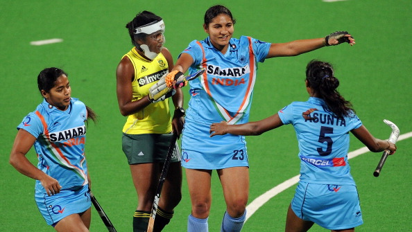 India claimed top spot in the women's tournament following a narrow 3-1 win over Poland ©Getty Images