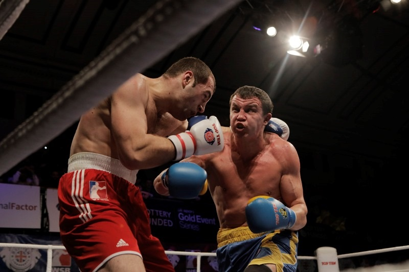 The Ukraine Otamans ended their recent run of defeats with victory in London against the British Lionhearts ©WSB