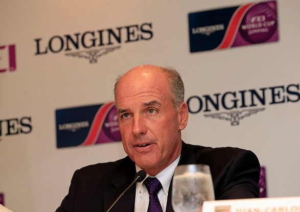 John Madden has said the FEI will welcome back the UAE when they follow the rules ©SPORTEL