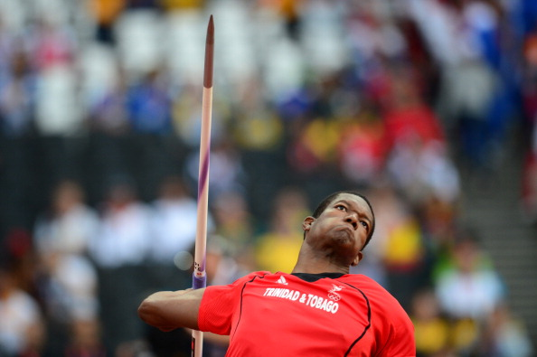 Keshorn Walcott won Trinidad and Tobago's one and only gold medal at London 2012 ©Getty Images