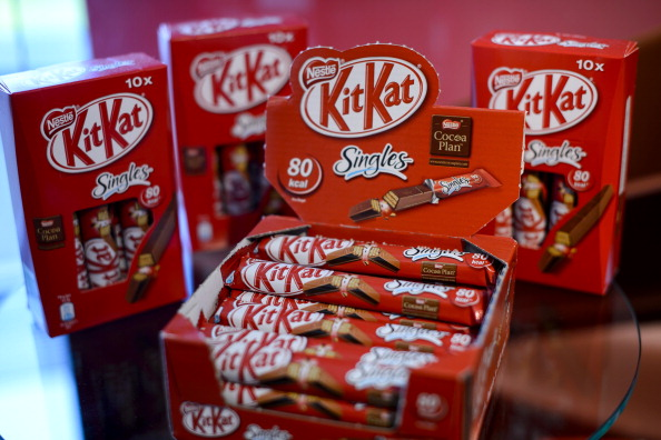 Kit Kat is among the Nestlé brands covered by the agreement with Baku 2015 ©Getty Images