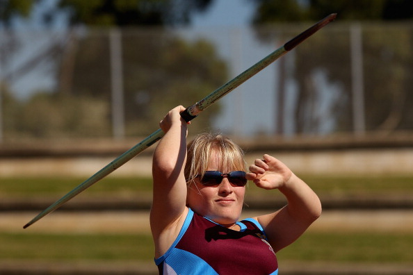 Kobie Donavan, who also competes in the javelin, set a discus world record at the IPC Grand Prix ©Getty Images