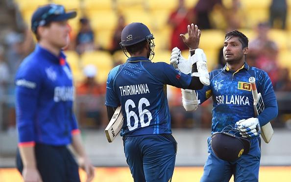 Kumar Sangakkara and Lahiru Thirimanne scored centuries as Sri Lanka breezed past England ©Getty Images
