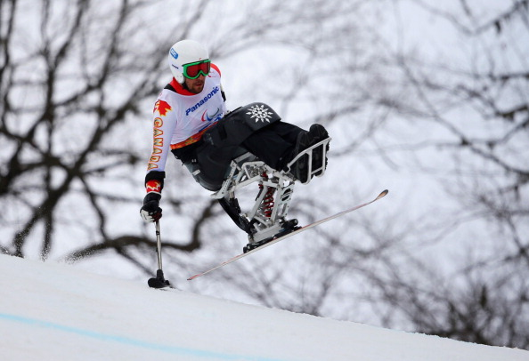 Kurt Oataway is one of Canada's medal prospects in the downhill sitting ©Getty Images