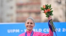 Olympic champion Laura Asadauskaite claimed her first World Cup gold of the season with victory in Cairo ©UIPM